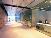 modern office building interior.
