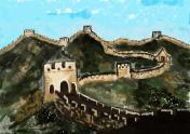 cg painting great wall