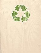 recycle wood grain