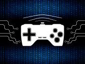 Media and games digital concept