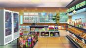 Supermarket indoor
