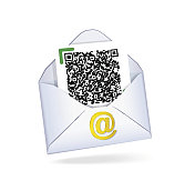 Letter with QR code.