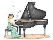 Play the piano