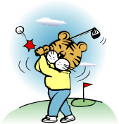 Tiger to play golf