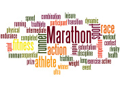 Marathon,word cloud concept 6