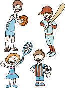 Children Love Sports