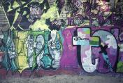 graffiti at the wall