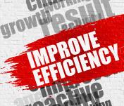 Improve Efficiency on White Brick Wall