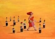 grow flowers where she walks
