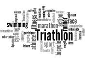 Triathlon, word cloud concept 4