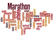 Marathon,word cloud concept 2