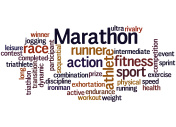 Marathon,word cloud concept 7