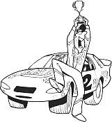 Car Race Winner