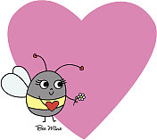 Valentine Bee Mine