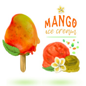 Fruity Mango Ice Cream
