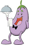 Eggplant Waiter