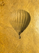 Retro style air balloon