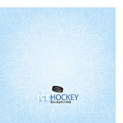 Ice Hockey background design
