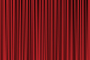 Red background looking like curtain