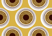 Textile fashion african print