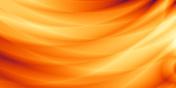 Orange wallpaper modern wave sunset design