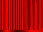 Background of the red curtain