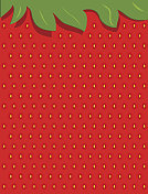 Background wallpaper of strawberry accents