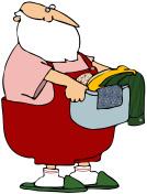 Santa's Laundry Day