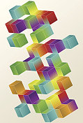 Gradient Cube Page Design