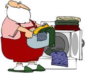 Santa's Wash Day