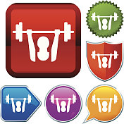 icon series: weightlifting