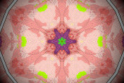Pop Art-Style Mandala