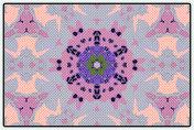 Floral Pop Art-Style Mandala