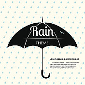 Rain Theme Template