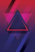80s, retro neon style disco design Background