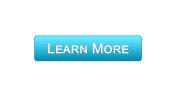 Learn more web interface button blue color, education online program, webinar