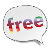 Free - Speech Bubbles (Clipping Path)