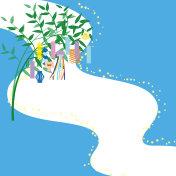 Tanabata Festival frame