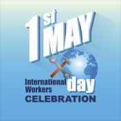 First May, International workers day
