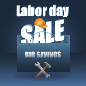 Labor day, sale