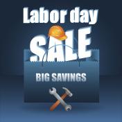 Labor day, sale