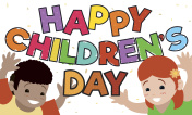 Boy and Girld Celebrating Children's Day