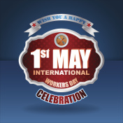 First May International Workers day, celebration