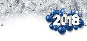 Gray 2018 New Year banner.
