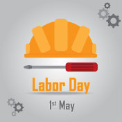 Labor Day Vector Background Design