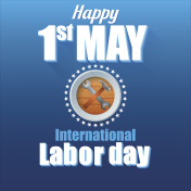Happy First May International Labor day