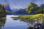Beautiful Spring background/Landscape