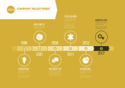 Simple Infographic Timeline Template