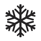 snowflake icon illustration design