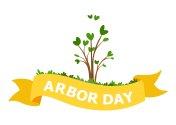 National Arbor Day Vector Illustration.